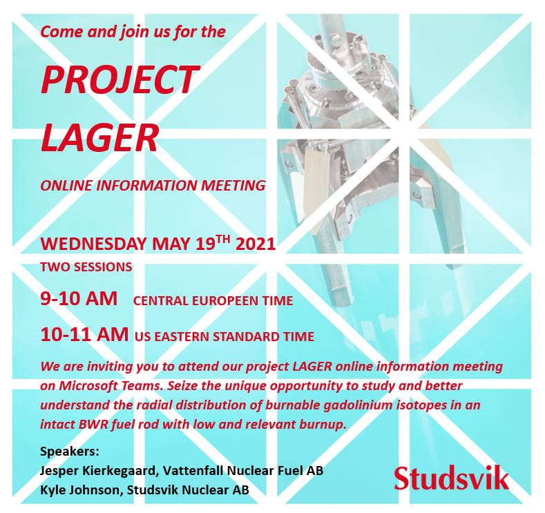 Invitation project LAGER